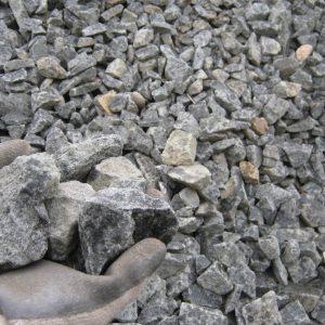 "1.5"" - 2.5"" lean ballast stone"