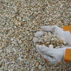 "3/8"" delaware yellow pea gravel"