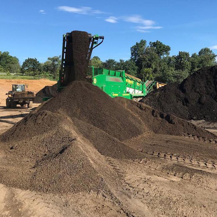 screening soil and mulch